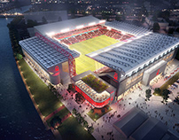 CG Works for The Regenerated Stadium