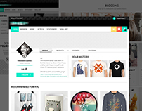 E-commerce Bilingual Website Design
