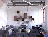 Design interior concept of the Politechnika classroom