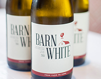 Barn White Wine Label
