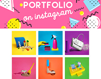 PORTFOLIO on Instagram? YES!