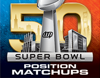 SB50 Instagram Series: Position Matchups