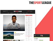 The Sport League - UX-UI