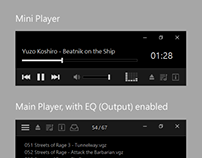 Midnight - Skin for XMPlay Audio Player
