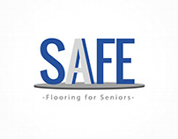 Logo SAFE - Flooring for Seniors | Por Sebastian Marín®