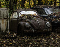 Abandoned Oldtimer / Creative Commons