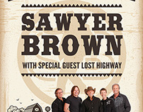 Concert materials: Sawyer Brown-2014 Dakota County Fair