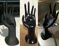 Hand Ring Holder 3D printed