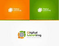 DEMEET(Digital Meeting) Logo