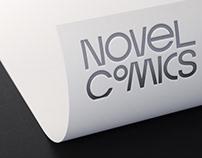 NOVEL COMICS Brand identity