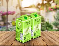 Free Juice Pack Mockup