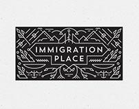Immigration Place Australia logo & website concepts
