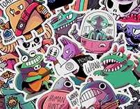 Character Design Vol.1 Sticker Edition