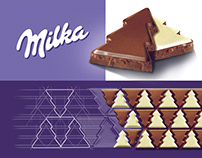 milka - LIMITED edition - project made for OPUS-B