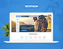 Decathlon sport events site