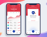 Redesign Crypto Price Tracker App UI kit