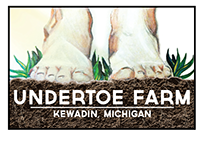 Logo creation for Undertoe Farm
