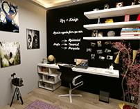 Escritórios em 3D