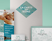 New Branding for Spa Perle d'Eau