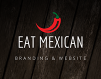 Eat Mexican - Branding & Website