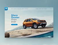 Dacia rebranding. Digital universe