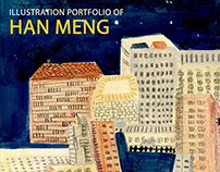 Illustration Portfolio Of Han Meng