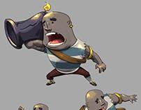 Cannon pirate concept art