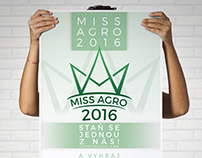 Miss AGRO 2016 - poster