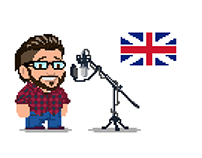Voice acting in english - video concepts.