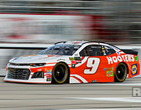 #9 Hooters Car at Atlanta Motor Speedway