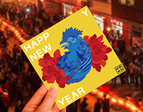 Happy New Year 2017- 雞開富貴