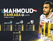 MAHMOUD KAHRABA Throughout his career