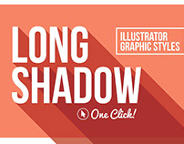 Long Shadow Illustrator Graphic Styles