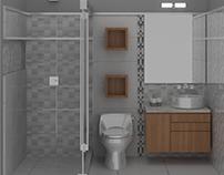 10/2015 Diseño Interior Baños/Bathroom Interior Design