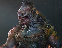 HUMANOID MONSTER character concepts