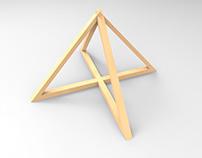 Luminária Pirâmide