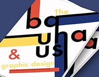 Bauhaus & Graphic Design editorial design