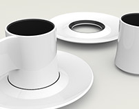 """Antica Tostatura Triestina"" coffee cup project."