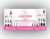 UNIFORM - Multi-Purpose eCommerce HTML Template
