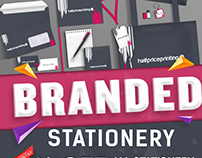Branded Stationery Promo Campaign for HPP