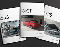 LEXUS USA - 16MY Cover Imagery
