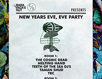New Years Eve party - poster