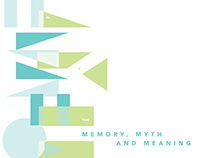 AAPCSW / Memory, Myth and Meaning Conference Branding