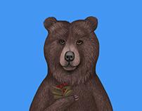 Illustrations for Kamchatka