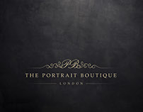 Branding & Identity Design: Portrait Boutique London