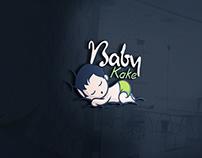Logo Design For Baby Kake