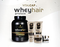 Folder Vitalcap Whey Protein Hair - Belofio