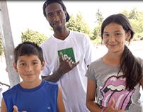 Team Neff Skater Isaiah Johnson for Boys & Girls Club