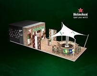 Heineken Metro Expo 2019. Stand. Concept