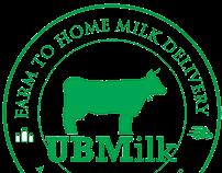 UB Milk Branding